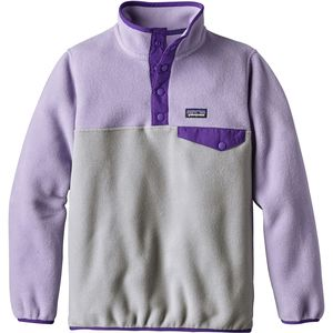 Patagonia Lightweight Synchilla Snap-T Pullover Fleece Jacket - Girls'