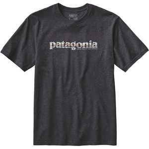 Patagonia 73 Text Logo Recycled Responsibility-T-Shirt - Men's
