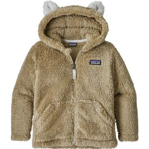 Patagonia Furry Friends Fleece Hooded Jacket - Toddler Boys'