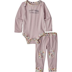 Patagonia Capilene Midweight Set - Infant Girls'