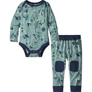 Patagonia Capilene Midweight Set - Infant Boys'