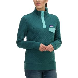 Patagonia Organic Cotton Quilt Snap-T Pullover Sweatshirt - Women's