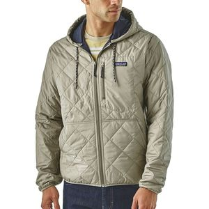 Patagonia Diamond Quilted Bomber Hooded Jacket - Men's