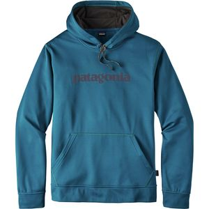 Patagonia Text Logo PolyCycle Pullover Hoody - Men's