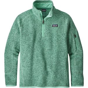 Patagonia Better 1/4-Zip Sweater - Girls'