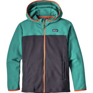 Patagonia Micro D Hooded Jacket - Boys'