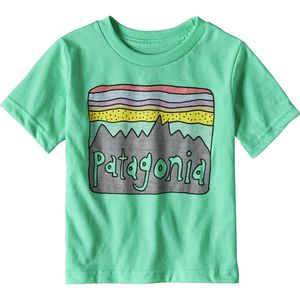 Patagonia Baby Fitz Roy Skies T-Shirt - Toddler Girls'