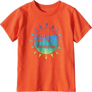 Patagonia Graphic Cotton Short-Sleeve T-Shirt - Toddler Boys'