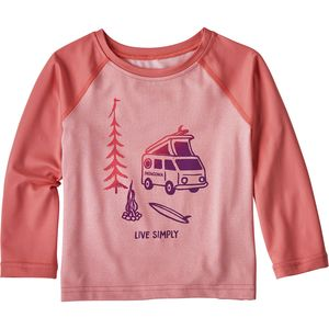 Patagonia Capilene Silkweight Long-Sleeve Crew - Infant Girls'