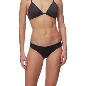 Footprint 9027 Smooth PlainThong Swimwear in Black