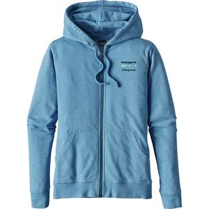 Patagonia Shop Sticker Lightweight Full-Zip Hoodie - Women's