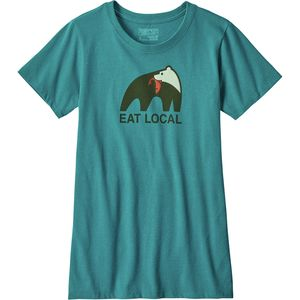 Patagonia Eat Local Upstream Responsibili-Tee Shirt - Women's