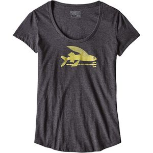Patagonia Flying Fish Cotton/Poly Scoop T-Shirt - Women's