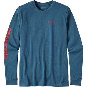 Patagonia Text Logo Responsibili-Tee Shirt - Long-Sleeve - Men's