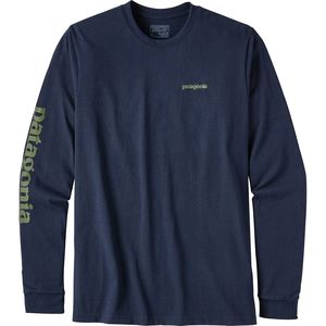 Patagonia Text Logo Responsibili-T-Shirt - Men's