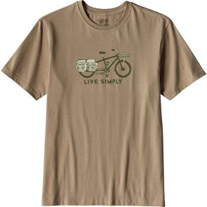 Patagonia Live Simply Cargo Bike T-Shirt - Men's