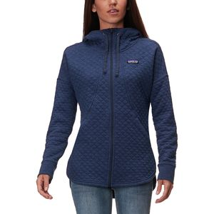 Patagonia Organic Cotton Quilt Full-Zip Hoodie - Women's