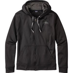 Patagonia Small Flying Fish PolyCycle Full-Zip Hoody- Men's