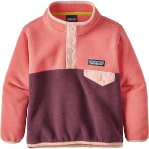 Patagonia Synchilla Snap-T Fleece Pullover - Toddler Girls'