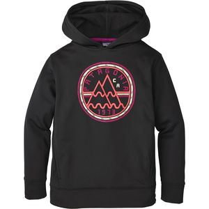 Patagonia Graphic Polycycle Hooded Sweatshirt - Girls'