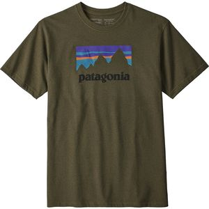 Patagonia Shop Sticker Responsibili-T-Shirt - Men's