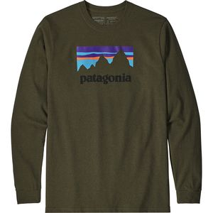 Patagonia Shop Sticker Long-Sleeve Responsibili-T-Shirt - Men's