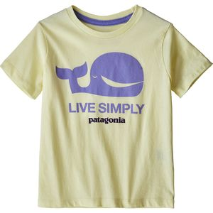 Patagonia Live Simply Organic T-Shirt - Toddler Girls'