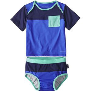 Patagonia Little Sol Swim Set - Infant Boys'