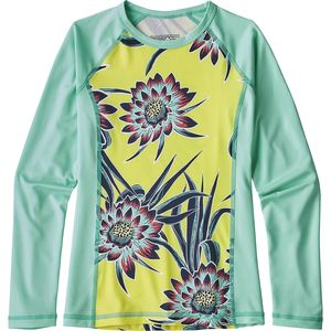 Patagonia Silkweight Long-Sleeve Rashguard  - Girls'