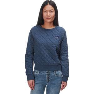 Organic Cotton Quilt Crew Sweatshirt - Women's