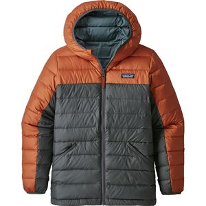 Patagonia Reversible Down Hooded Sweater - Boys'