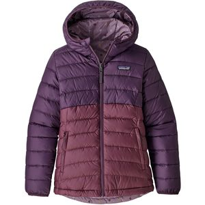 Patagonia Reversible Down Hooded Sweater - Girls'