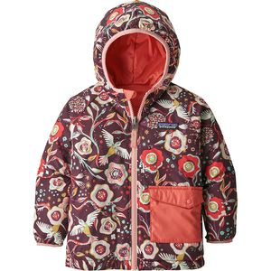 Puff-Ball Reversible Jacket - Toddler Girls'