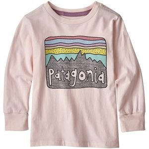 Patagonia Graphic Organic Long-Sleeve T-Shirt - Toddler Girls'