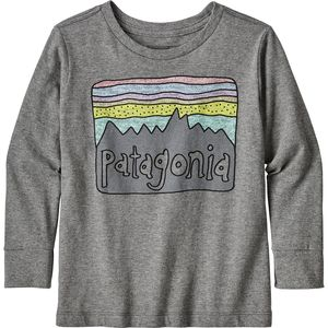 Patagonia Graphic Organic Long-Sleeve T-Shirt - Infant Boys'