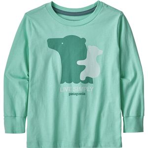 Patagonia Graphic Organic Long-Sleeve T-Shirt - Infant Girls'