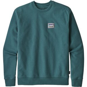 Patagonia Shop Sticker Patch Uprisal Crew Sweatshirt - Men's