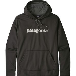 Patagonia Text Logo Polycycle Hoodie - Men's