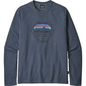 Patagonia Fitz Roy Hex Lightweight Crew Sweatshirt - Men's