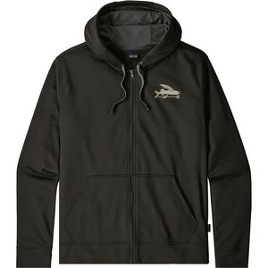 Patagonia Small Flying Fish Polycycle Full-Zip Hoodie - Men's