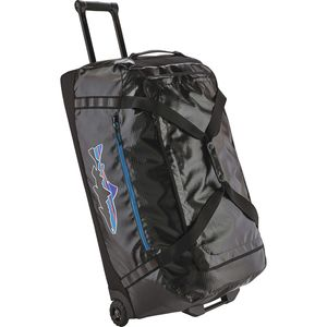 Patagonia Black Hole Fitz Roy Trout Wheeled 120L Duffel