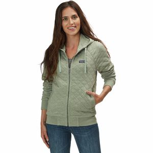 Patagonia Organic Cotton Quilt Hooded Jacket - Women's