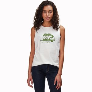Patagonia Live Simply Trailer Organic Muscle Tank Top - Women's