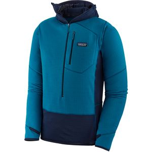 Patagonia R1 Hooded 1/2-Zip Fleece Pullover - Men's