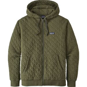 Patagonia Organic Cotton Quilt Full-Zip Hoodie - Men's