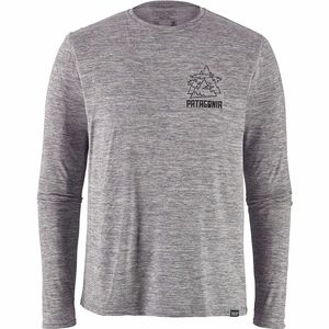 Capilene Cool Daily Graphic Long-Sleeve Shirt - Men's
