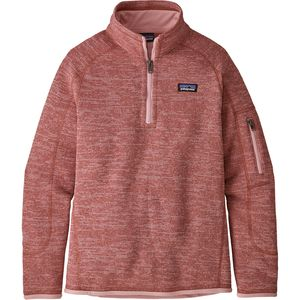 Patagonia Better Sweater 1/4-Zip Jacket - Girls'