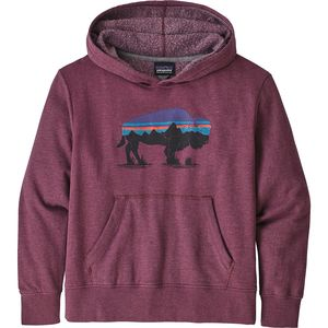 Patagonia Lightweight Graphic Hoodie Sweatshirt - Girls'