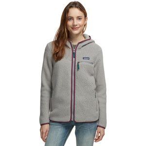 Retro Pile Hooded Jacket - Women's