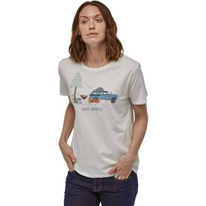 Patagonia Live Simply Lounger Organic Crew T-Shirt - Women's